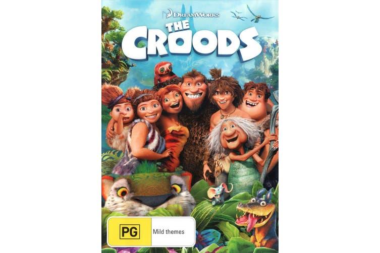 The Croods DVD Region 4