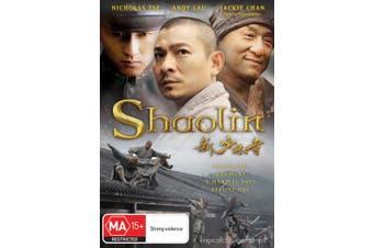 Shaolin DVD Region 4