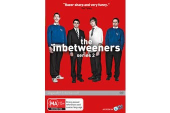 The Inbetweeners Series 2 DVD Region 4