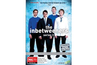 The Inbetweeners Series 3 DVD Region 4