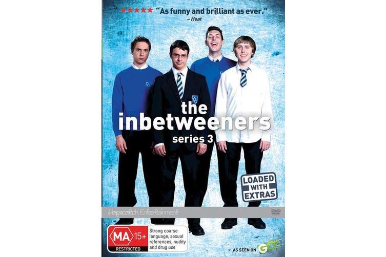 The Inbetweeners Series 3 DVD Region 4