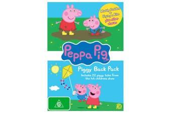 Peppa Pig Piggy Back Pack 1 DVD Region 4