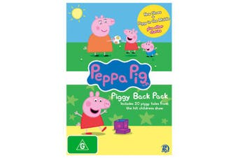 Peppa Pig Piggy Back Pack 2 DVD Region 4