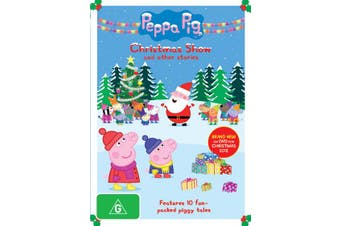 Peppa Pig Christmas Show DVD Region 4