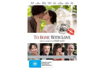 To Rome With Love DVD Region 4