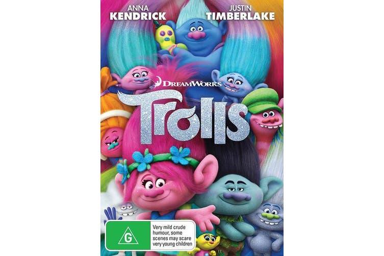 Trolls DVD Region 4