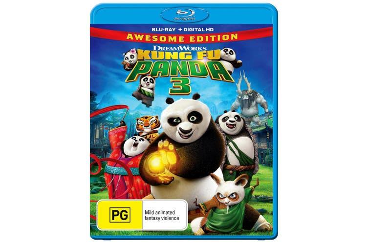 Kung Fu Panda 3 Blu-ray Region B