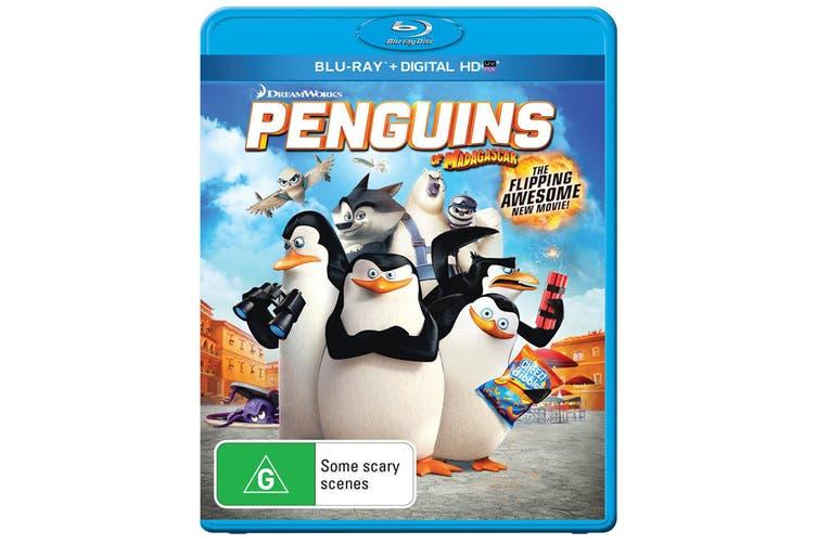 Penguins of Madagascar Blu-ray Region B