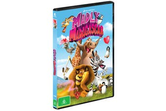 Madly Madagascar DVD Region 4