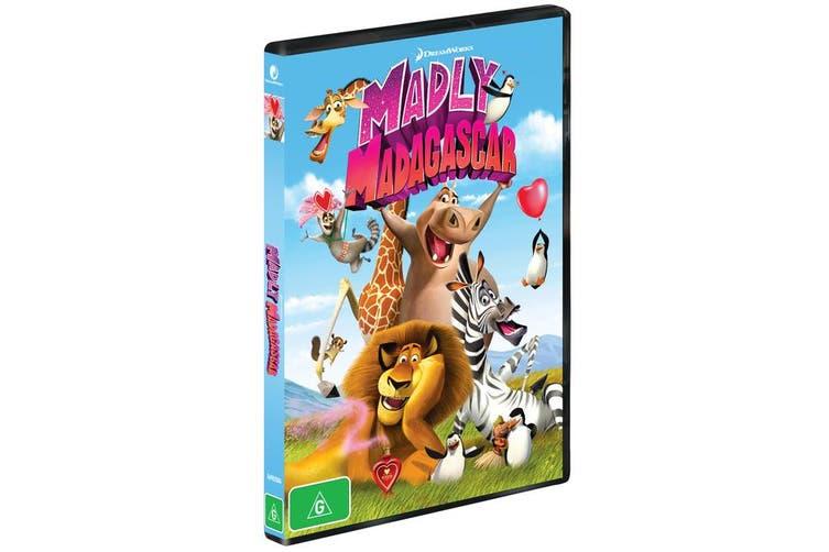 Madly Madagascar DVD Region 4