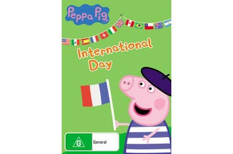 Peppa Pig International Day DVD Region 4