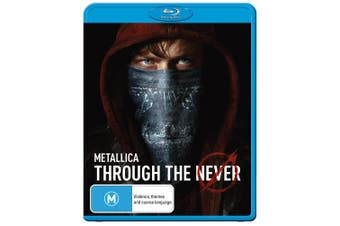 Metallica Through the Never Blu-ray Region B