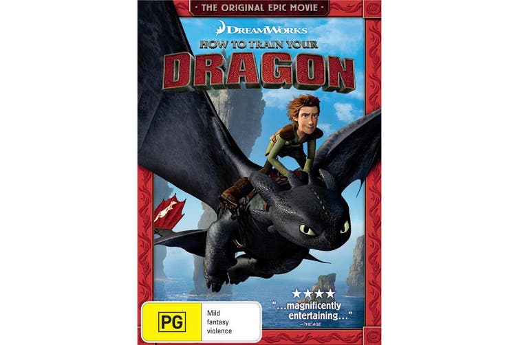 How to Train Your Dragon DVD Region 4