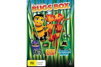 Bee Movie / Antz / Flushed Away Box Set DVD Region 4