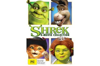 Shrek The 4 Movie Collection Box Set DVD Region 4
