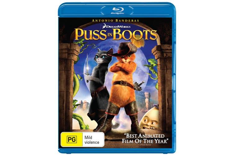 Puss in Boots Blu-ray Region B