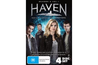 Haven Season 5 Volume 1 Box Set DVD Region 4
