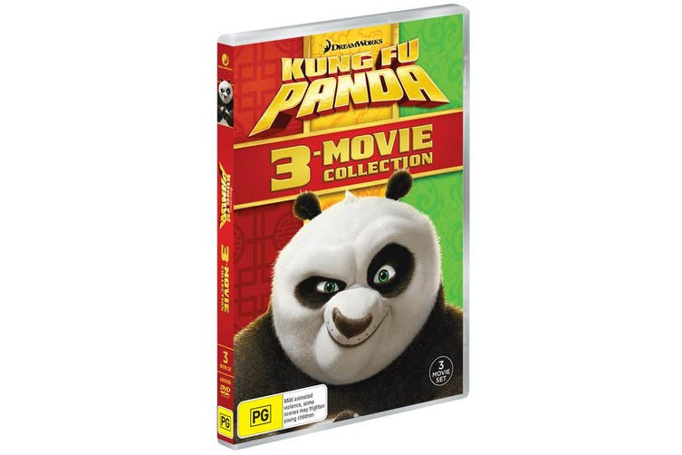 Kung Fu Panda 3 Movie Collection Box Set DVD Region 4