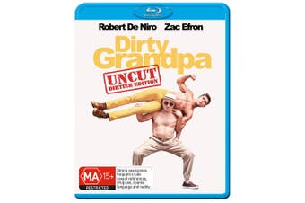 Dirty Grandpa Extended Edition Longer and Dirtier Blu-ray Region B