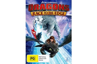 Dragons Race to the Edge Season 1 DVD Region 4