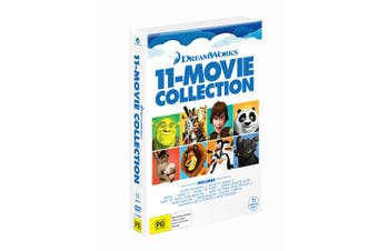 Dreamworks Mega Collection Box Set DVD Region 4
