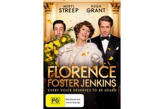 Florence Foster Jenkins DVD Region 4