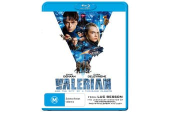 Valerian and the City of a Thousand Planets Blu-ray Region B