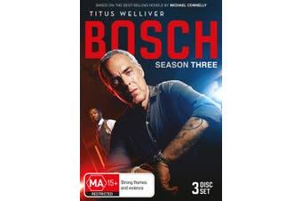 Bosch Season 3 Box Set DVD Region 4