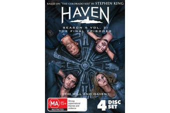 Haven Season 5 Volume 2 Box Set DVD Region 4