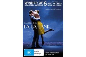 La La Land DVD Region 4