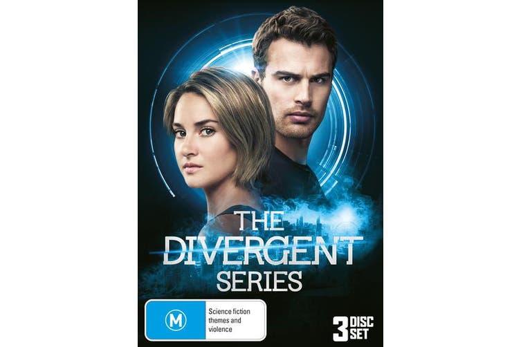 Divergent / Insurgent / Allegiant Box Set DVD Region 4