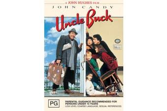 Uncle Buck DVD Region 4