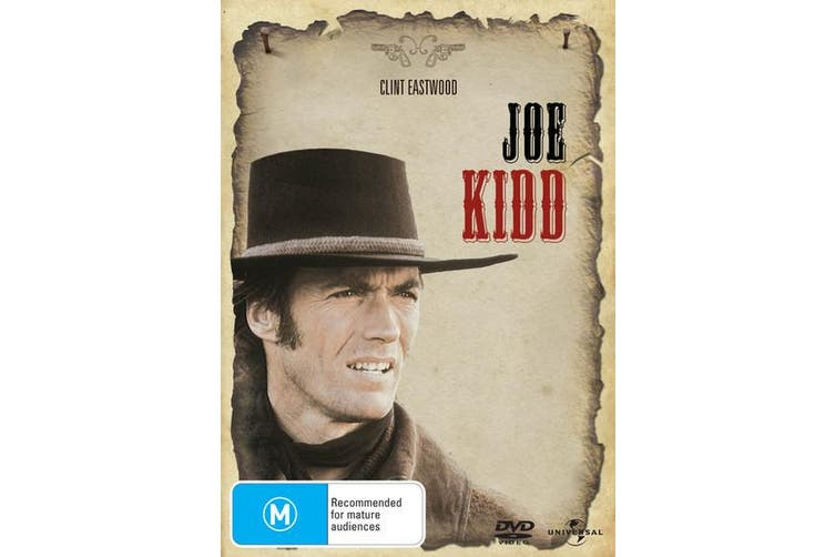 Joe Kidd DVD Region 4