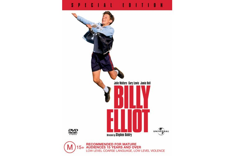 Billy Elliot DVD Region 4