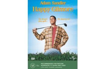 Happy Gilmore DVD Region 4