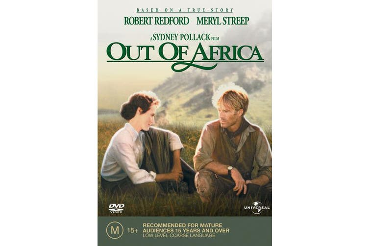 Out of Africa DVD Region 4