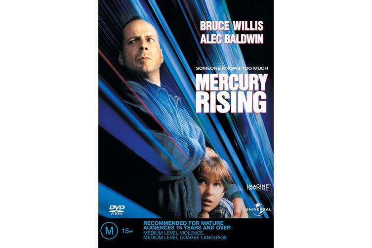 Mercury Rising DVD Region 4