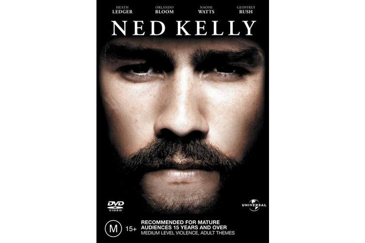 Ned Kelly DVD Region 4
