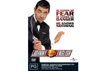 Johnny English DVD Region 4