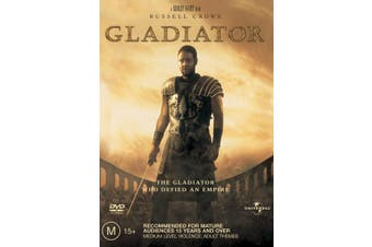 Gladiator DVD Region 4