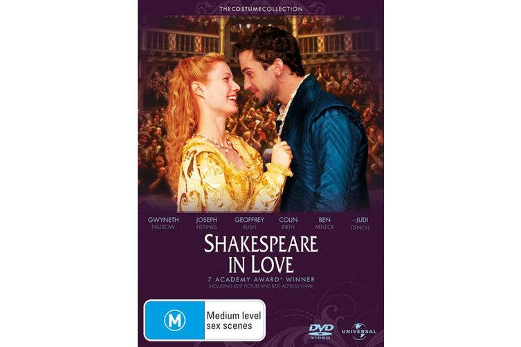 Shakespeare in Love DVD Region 4