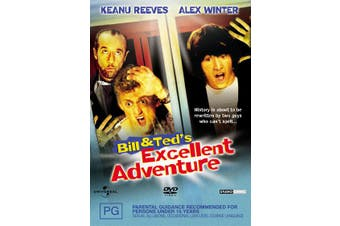Bill and Teds Excellent Adventure DVD Region 4