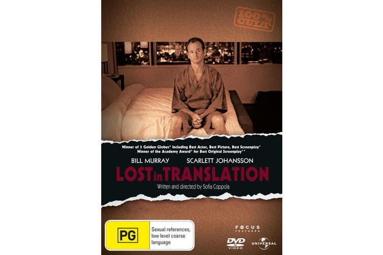 Lost in Translation DVD Region 4