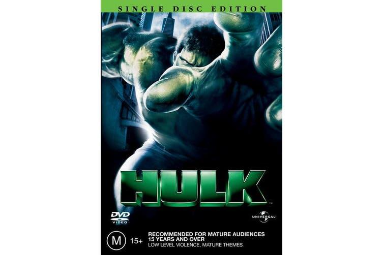 Hulk DVD Region 4