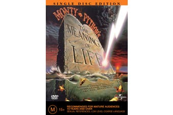 Monty Pythons the Meaning of Life DVD Region 4
