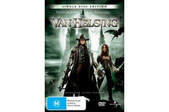Van Helsing DVD Region 4