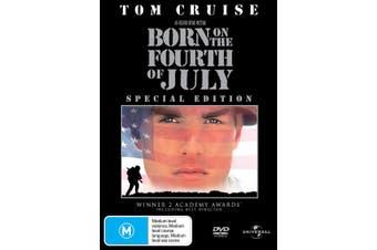 Born On the Fourth of July DVD Region 4