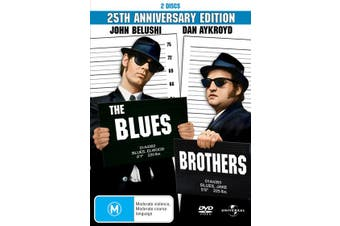 The Blues Brothers DVD Region 4