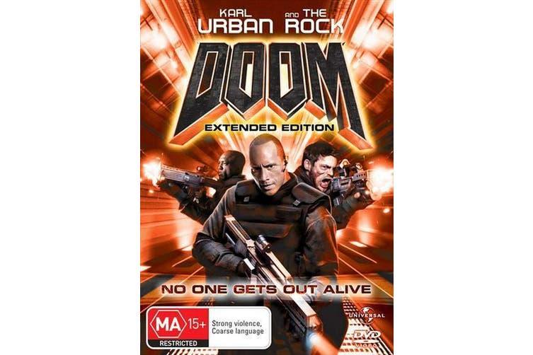 Doom DVD Region 4