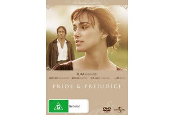 Pride and Prejudice DVD Region 4